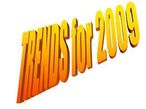 trendsfor2009